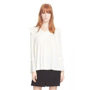 See by Chloé Ruffle Top